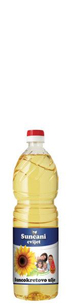 SUNČANI CVIJET suncokretovo ulje